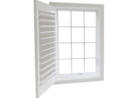Wood & Vinyl Window Shutters