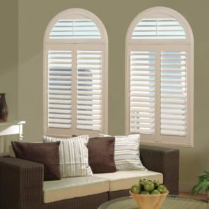 Shaped Window Blinds & Shades