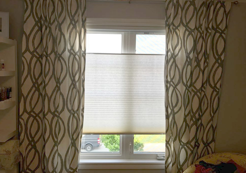 honeycomb window shades